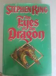 The Eyes of the Dragon by Stephen King (1987) 1st1st Edition Hardcover Novel $18.50