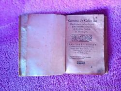 10 Manaments IN Català XVI Summa Of Cases Of Consciousness $5,400.83