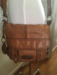 Fossil Purse Crossbody Leather Long Live Vintage  $18.95