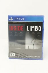 Inside & Limbo Double Pack w Poster & Art Card - LD - PS4 - See Description $19.95