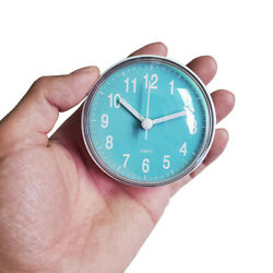 Mini Bathroom Kitchen Waterproof Suction Cup Wall Clock Shower Timer Home Decor $10.25