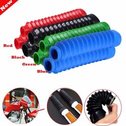 30mm 49mm Dirt Bike Front Fork Suspension Shock Cover Dust Shield Boots Gaiters $9.99