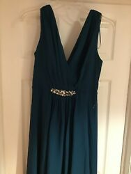 Eliza J Woman's Dress size 6 Deep Teal Lined Formal For Any Age $12.00