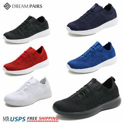 DREAM PAIRS Mens Fashion Running Shoes Outdoor Indoor Athletic Sneakers Black $14.29