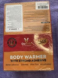 *NIB* GoGold 40 Packs Body Warmers With Strong Adhesive Longer Lasting  $32.95