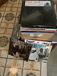 Vinyl Record Box Lot Of 10 Records 90s 2000s Hip Hip RnB pop House Trance  $15.00