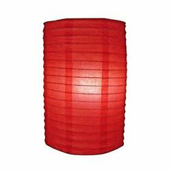 Quasimoon 8quot; Red Cylinder Paper Lantern by PaperLanternStore $3.47