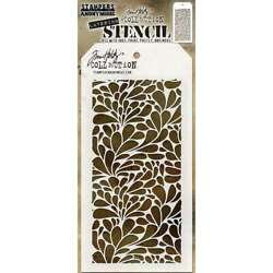 Tim Holtz Layered Stencil 4.125X8.5 Splash 653341455918 $6.95