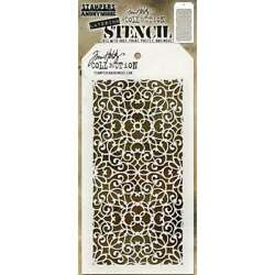 Tim Holtz Layered Stencil 4.125X8.5 Ornate 653341455512 $6.95