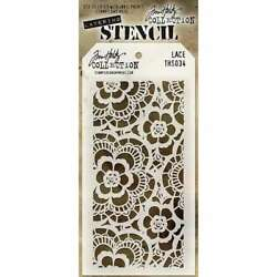 Tim Holtz Layered Stencil 4.125X8.5 Lace 748252602152 $6.95