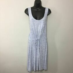 Olive & Oak Women's Blue Jersey Dress Summer beach vacation casual style Size M $14.30