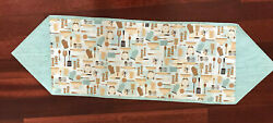 TABLE RUNNER WITH KITCHEN DESIGNS ON IT $12.99