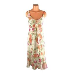 I.N. Studio Floral Print Cocktail Special Occasion Dress Size 12 $16.99