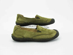 Keen Women Shoe Golden Summer Size 9M Green Loafer Athletic Pre Owned qz $42.95