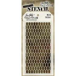Tim Holtz Layered Stencil 4.125X8.5 Mesh 748252602855 $7.20