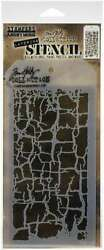 Tim Holtz Layered Stencil 4.125X8.5 Decayed 644216929023 $6.95