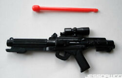 miniature E 11 Blaster from 12quot; Star Wars Stormtrooper by Hasbro han solo sand $5.00
