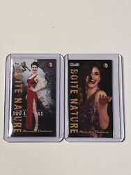 ALEXANDRA DADDARIO 3 LOT 2 ACTRESS BAYWATCH MH BOITE NATURE Mill Tobacco cards $7.00