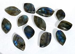 "Wholesale Lot 12 Pcs Natural Labradorite Cab Crystal 1.25"" 2"" Nice Quality $18.00"