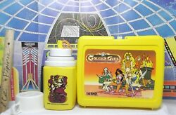 Vintage Galoob GOLDEN GIRL doll figure LUNCH BOX THERMOS COMPLETE EX 2she-ra