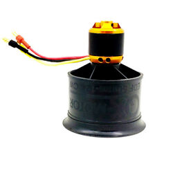 QX MOTOR QF2611 Brushless Motor CW CCW 50mm 12 Ducted Fan for FMS RC Helicopter $21.15