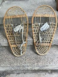 Vintage Bearpaw Snowshoes 28x13 In Very Good Condition Ships Very Fast Today $99.00
