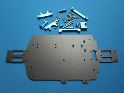 WLTOYS 1 18 CARBON FIBER FRAME CHASSIS UPGRADE RC PARTS $29.95