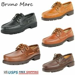 Bruno Marc Mens Fashion Oxford Shoes Lace up Casual Shoes Business Dress Shoes $17.99