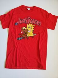 Nickelodeon The Angry Beavers Vintage Red Men's T Shirt Size S $19.99