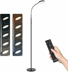 Modern Dimmable Led Floor Lamp 360° Rotation Adjustable For Living Room Bedroom $40.99