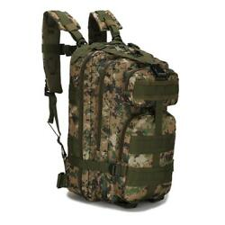 Tactical Backpack Army Assault DayPack Hiking Trekking Camping Bug Out Bag $19.99