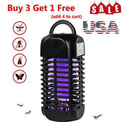 Electric USB Fly Zapper Mosquito Killer Bug Insect Pest LED Lamp Trap Light Room $13.59