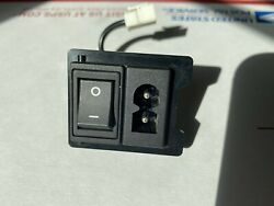 OEM Replacement Sony PlayStation 2 PS2 Fat Power Switch AC Plug $4.39