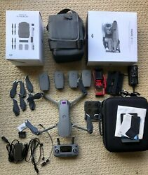 [MINT]  DJI Mavic 2 Pro Drone + Fly More + 2 Extra Batteries [5 Battery] + More $950.00
