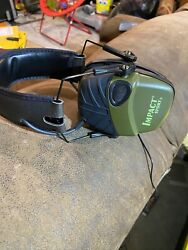 Howard Leight by Honeywell Impact Sport Sound Amplification Electronic Earmuff $20.00