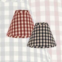Heritage House Check Country Lamp Shades by Raghu $35.56