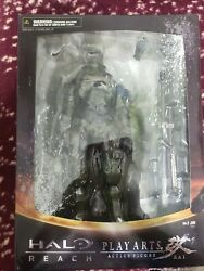 Square Enix Halo Reach Play Arts Kai Series 1 Jun NO. 2 Action Figure HTF NIB $10.50