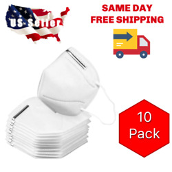 10 Pack KN95 Face Mask Cover Protection Respirator Masks K N95 5 Layer $9.99