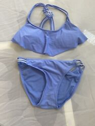 Xhilaration Top Small size Bottom med 2 piece purple swimsuit teen youth $8.55