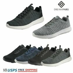 DREAM PAIRS Mens Sneaker Mesh Casual Shoes Lightweight Running Walking Shoes $15.59
