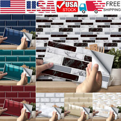 Up to 54PCS Self Adhesive Mosaic Tile Sticker Kitchen Bathroom Wall Stickers US $10.68
