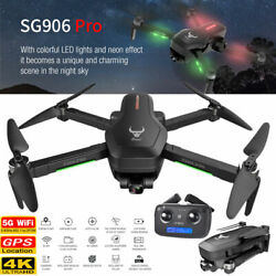 SG906 PRO SG701S GPS RC Drone with Camera 5G Wifi 4K 2 Axis Quadcopter Follow Me $75.11