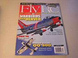 FLY RC December 2015 Warbirds Over Denver QQ 300 RC Kits Airplane Monthly $4.99