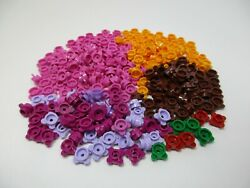 LEGO 250 New amp; EUC Flowers 1x1 dot with 4 petals knobs # 33291 $6.00