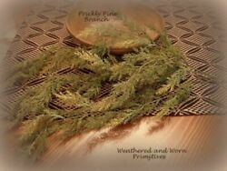 Primitive Country 33quot; Faux Variegated Prickly Pine Hanging Branch $12.99