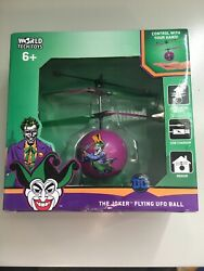 DC Comics Flying IR UFO Ball Helicopter Control with your hand JOKER $9.99