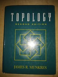 Topology by James R. Munkres 1999 Hardcover Revised edition USED $44.98