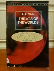 The War of the Worlds by H. G. Wells Trade Paperback $3.69