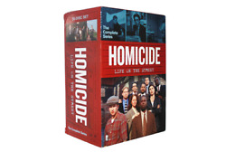 Homicide Life On The Street The Complete Series DVD 35 Disc Box Set $64.12