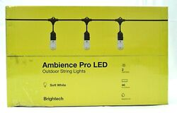 Brightech Ambience Pro Waterproof LED Outdoor String Lights 48 ft